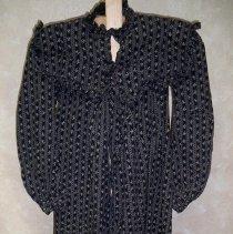 Image of Dress - Striped cotton dress