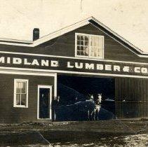 Image of Midland Lumber & Coal Co, Brownton, MN-postcard