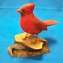 Image of Carving - Cardinal