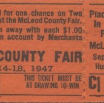 Image of Ticket - McLeod County Fair ticket