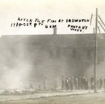 Image of Postcard - Brownton MN fire Oct 14, 1910-Postcard