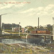 Image of Hutchinson, MN Power House c.1909