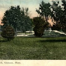 Image of Lincoln Park, Glencoe-postcard