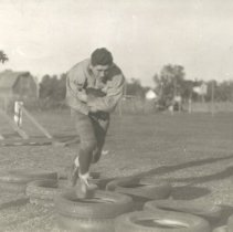 Image of Print, Photographic - 1937 Glencoe HS football team
