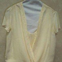 Image of Dress, Wedding - Handmade silk crepe wedding dress