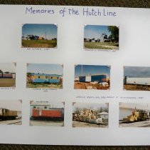 "Image of ""Memories of the Hutch Line"" depots and trains"