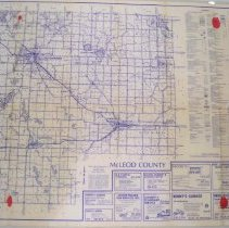 Image of McLeod County and Carver, MN maps
