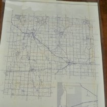 Image of McLeod County, MN map