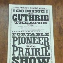 Image of Portable Pioneer & Prairie Show