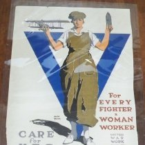 Image of Poster - World War I YWCA poster
