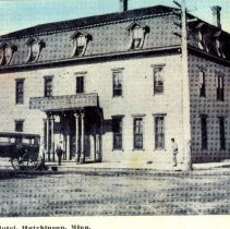 Image of Postcard: Merchants Hotel, Hutchinson, Minn.