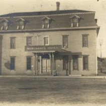 Image of Postcard - Merchants Hotel, Hutchinson MN-Postcard