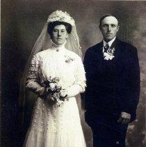 Image of Print, Photographic - Fredrich & Mary Burdorf Thalmann, 1910