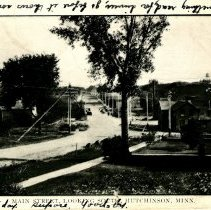 Image of Main Street, Hutchinson, MN, looking south