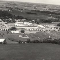 Image of Print, Photographic - Lester Prairie MN aerial view