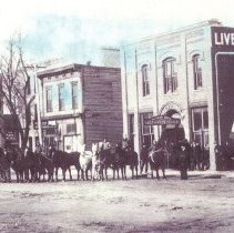 Image of Print, Photographic - Livery Stable-Hutchinson MN