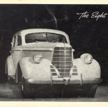 """Image of Print, Photographic - """"The Eight"""" Oldsmobile"""