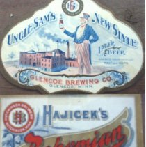 Image of Hutchinson & Glencoe beer labels