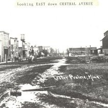 Image of Print, Photographic - Central Avenue, Lester Prairie MN