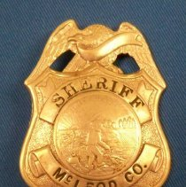 Image of Badge, Law Enforcement - McLeod Co. Sheriff badge