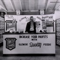 Image of Print, Photographic - Wendell Peterson, Salesman-Glencoe Mills