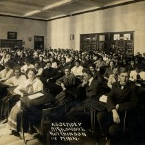 Image of Postcard - Assembly-High School, Hutchinson, Minn-postcard