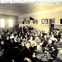 Image of Postcard: Assembly-High School, Hutchinson, Minn.