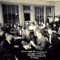 Image of Postcard: Seniors at Physics, High School, Hutchinson, Minn.