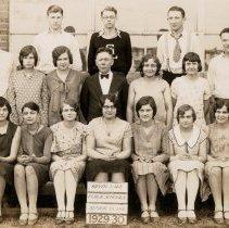Image of Print, Photographic - Silver Lake Public School Senior Class of 1929-30