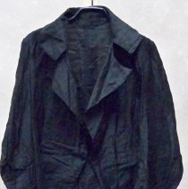 Image of Costume, Performance - Black cotton coat with tails