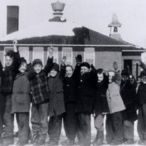 Image of Print, Photographic - District 11, Komensky, School Children 1945-46