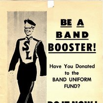 Image of Poster - Silver Lake Band Booster poster