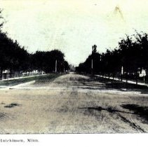 Image of Postcard: Hassan Street, Hutchinson, MN