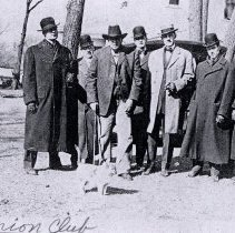 Image of Postcard - Members of the Union Club, Hutchinson, MN