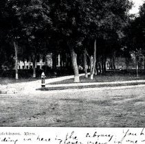 Image of Postcard - Central Park, Hutchinson, Minn-postcard