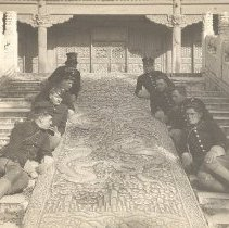 Image of Entrance to Yellow Temple, Peking, 1915