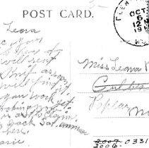 Image of Postcard: Bridge and Power House, Hutchinson, Minn, reverse