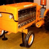 Image of Postcard: Allis-Chalmers fuel cell tractor