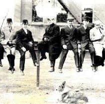 Image of Postcard - Union Club Members-Postcard