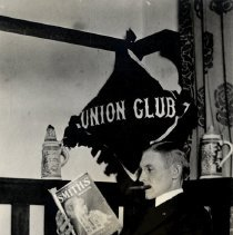 Image of Postcard - Union Club Member-Postcard