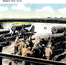 Image of Modern War Guns-postcard