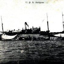 Image of U.S.S. Antigone-Postcard