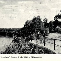 Image of Postcard - Soldiers' Home, Twin Cities, Minn-postcard