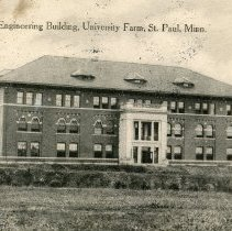 Image of Postcard - Agricultural Engineering Building, St. Paul, MN-postcard