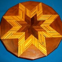 Image of Wooden Lazy Susan
