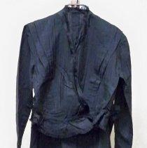 Image of Suit - Four pc. black woman's dress/suit set
