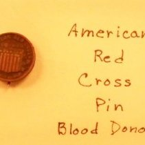 Image of Pin, Insignia - Red Cross pin