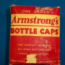 Image of Cap, Bottle - One box Armstrong's bottle caps