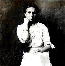 Image of Vera E. Day graduation-postcard
