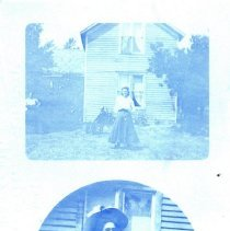 Image of Postcard - Goldie Ingerson in two different poses-postcard